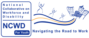Logo: National Collaborative Workforce for Youth (NCWD/Youth): Navigating the Road to Work