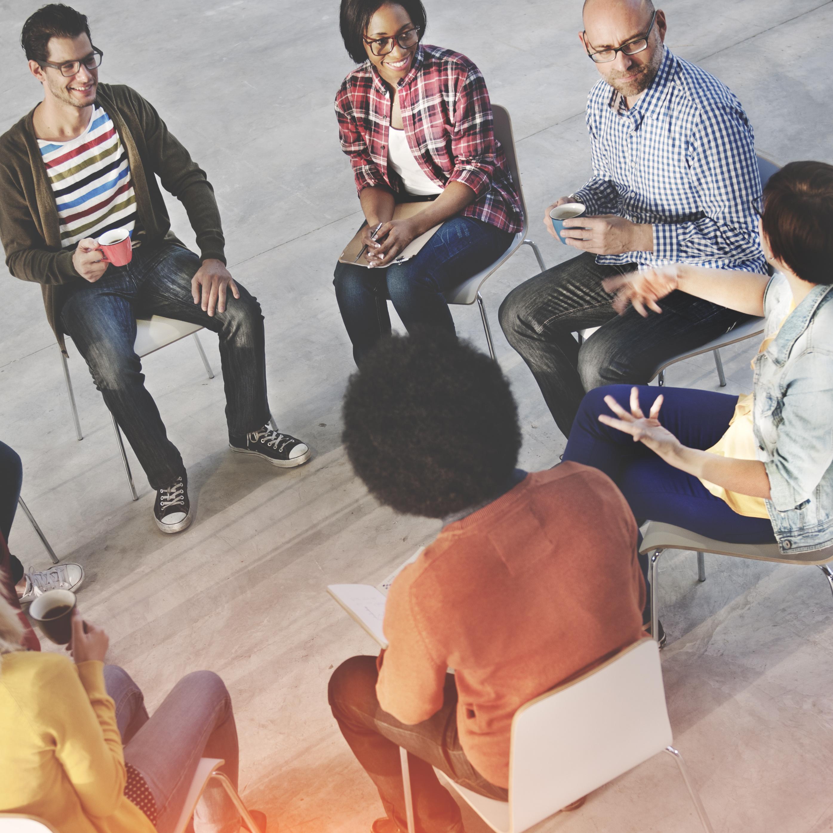 Meeting Brainstorming Sharing Meeting Seminar Concept